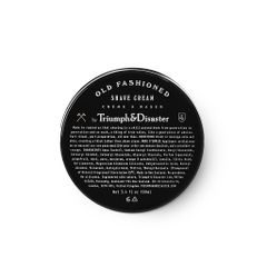 Krem do golenia Triumph & Disaster Old Fashioned (100 ml)