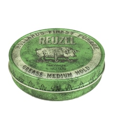 Reuzel Green Grease Medium Hold – pomada do włosów (113 g)