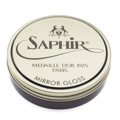 Wosk do zwierciadlanego połysku Saphir Mirror Gloss – winny (75 ml)
