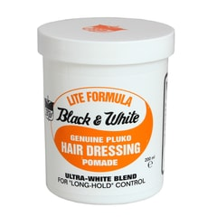 Black & White Pomade Lite – pomada do włosów (200 ml)