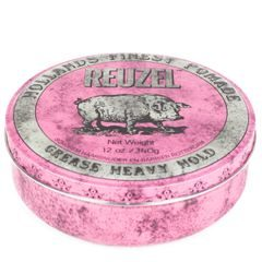 Reuzel Pink Grease Heavy Hold - pomada do włosów (340 g)