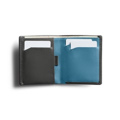 Bellroy Note Sleeve RFID - Charcoal & Arctic Blue