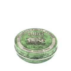 Reuzel Green Grease Medium Hold – pomada do włosów (35 g)