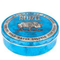 Reuzel Blue Water Soluble Strong Hold - pomada do włosów (340 g)