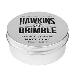 Hawkins & Brimble Matt Clay – glinka do włosów (100 ml)