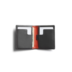Bellroy Slim Sleeve - Charcoal & Tangelo