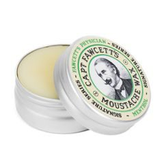 Wosk mentolowy do wąsów Cpt. Fawcett Physician Wax (15 ml)