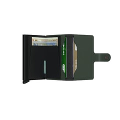 Secrid Miniwallet Matte - Green & Black