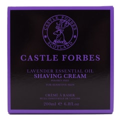 Krem do golenia Castle Forbes - Lavender (200 ml)