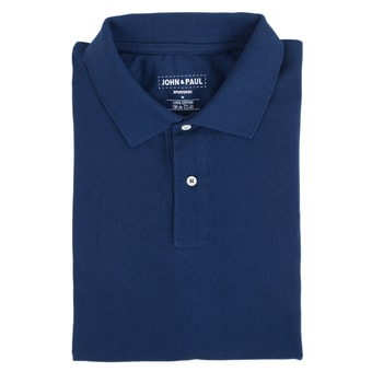 Perłowe polo® John & Paul - navy