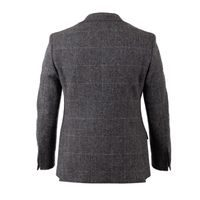 Sacou de tweed Walker Slater Edward - Charcoal & Green Windowpane
