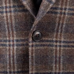 Sacou de tweed Walker Slater Edward - Brown & Navy Check