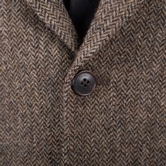 Sacou de tweed Walker Slater Edward - Brown Herringbone