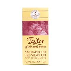 Ulei pre-bărbierit Taylor of Old Bond Street - Sandalwood (30 ml)