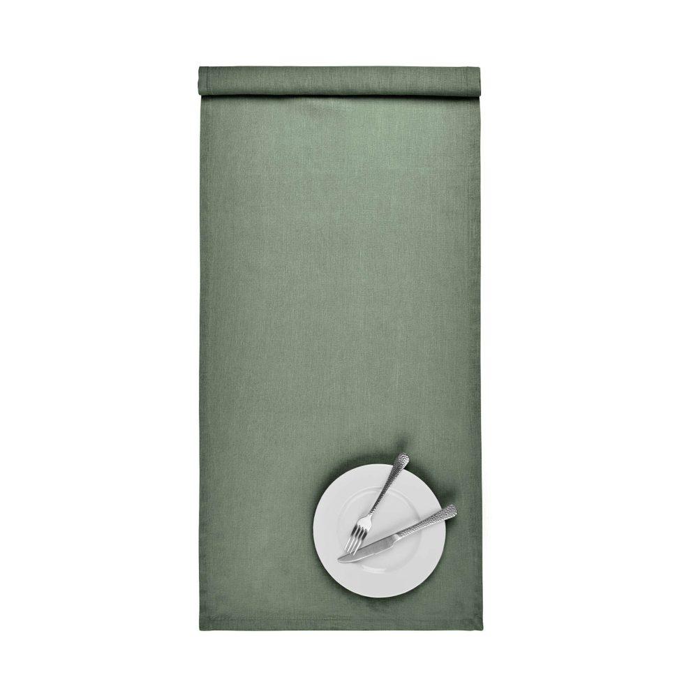 RIGA Behúň na stôl 160 x 50 cm - zelená