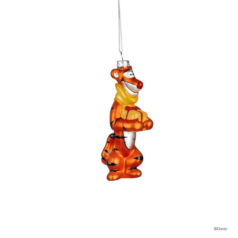 DISNEY Sklenená ozdoba Tygrík z Medvedíka Pú