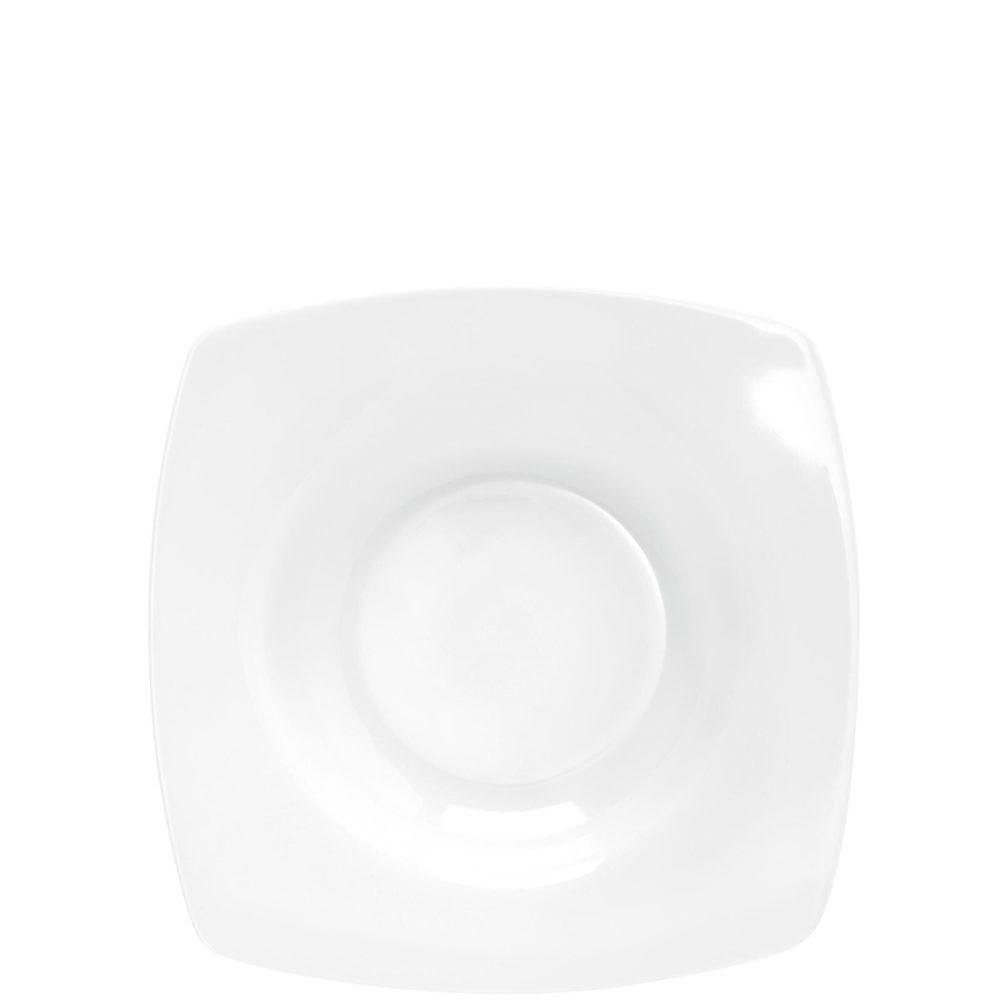 PURO Hlboké taniere na polievku hranaté 21 cm set 6 ks