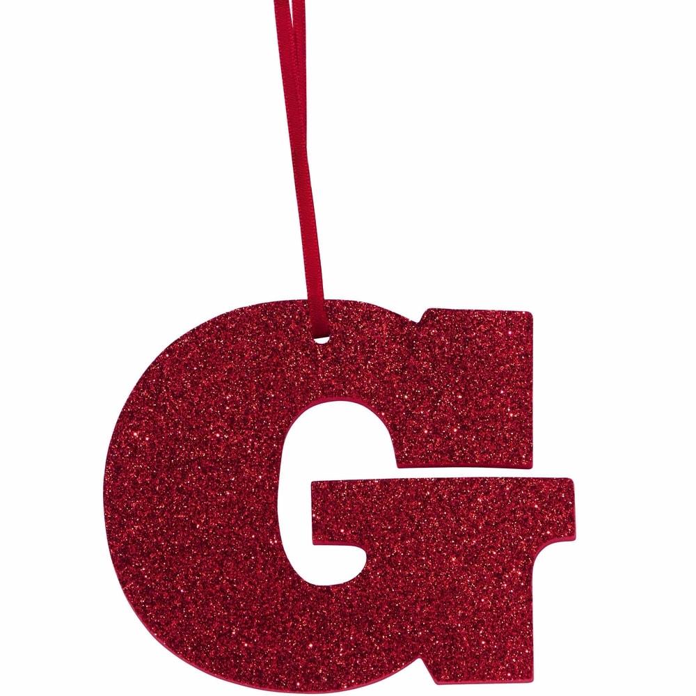 HAPPY GIFT Písmeno s trblietkami G
