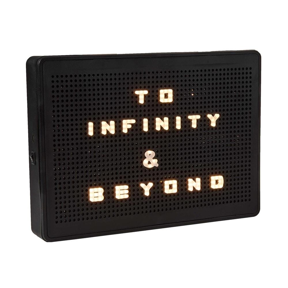 MATRIX Svetelný box A4 LED svietiace písmenká