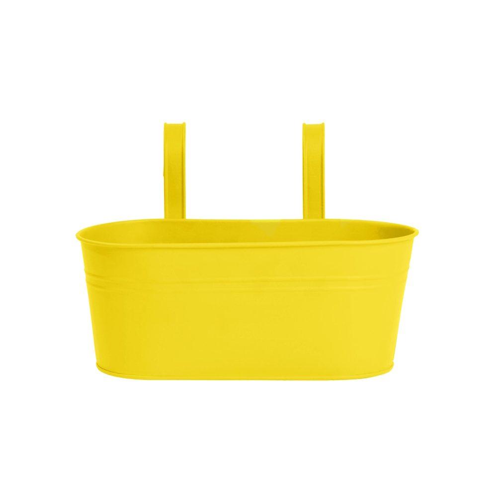 ZINC Truhlík na zavesenie 33 cm - žltá