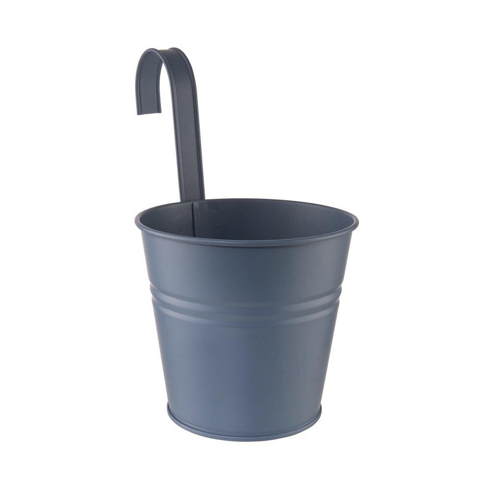 ZINC Kvetináč na zavesenie 16 cm - modrá