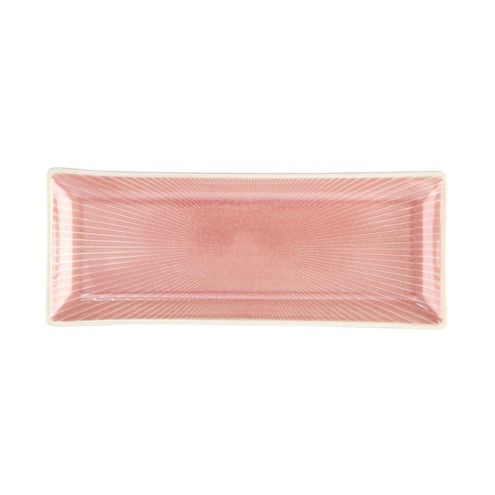 HANAMI Sada tanierov 24,5 cm set 6 ks - sv. ružová