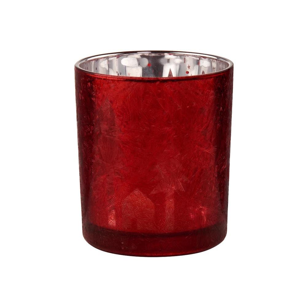 DELIGHT Svietnik na čajovú sviečku stromčeky a domčeky