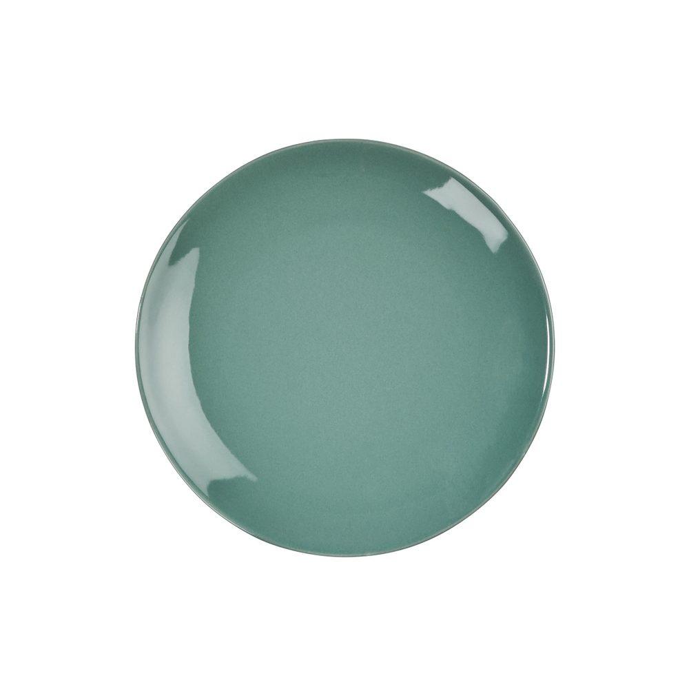 SPHERE Sada tanierov na šalát 20,5 cm lesklé 4 ks - tm. zelená