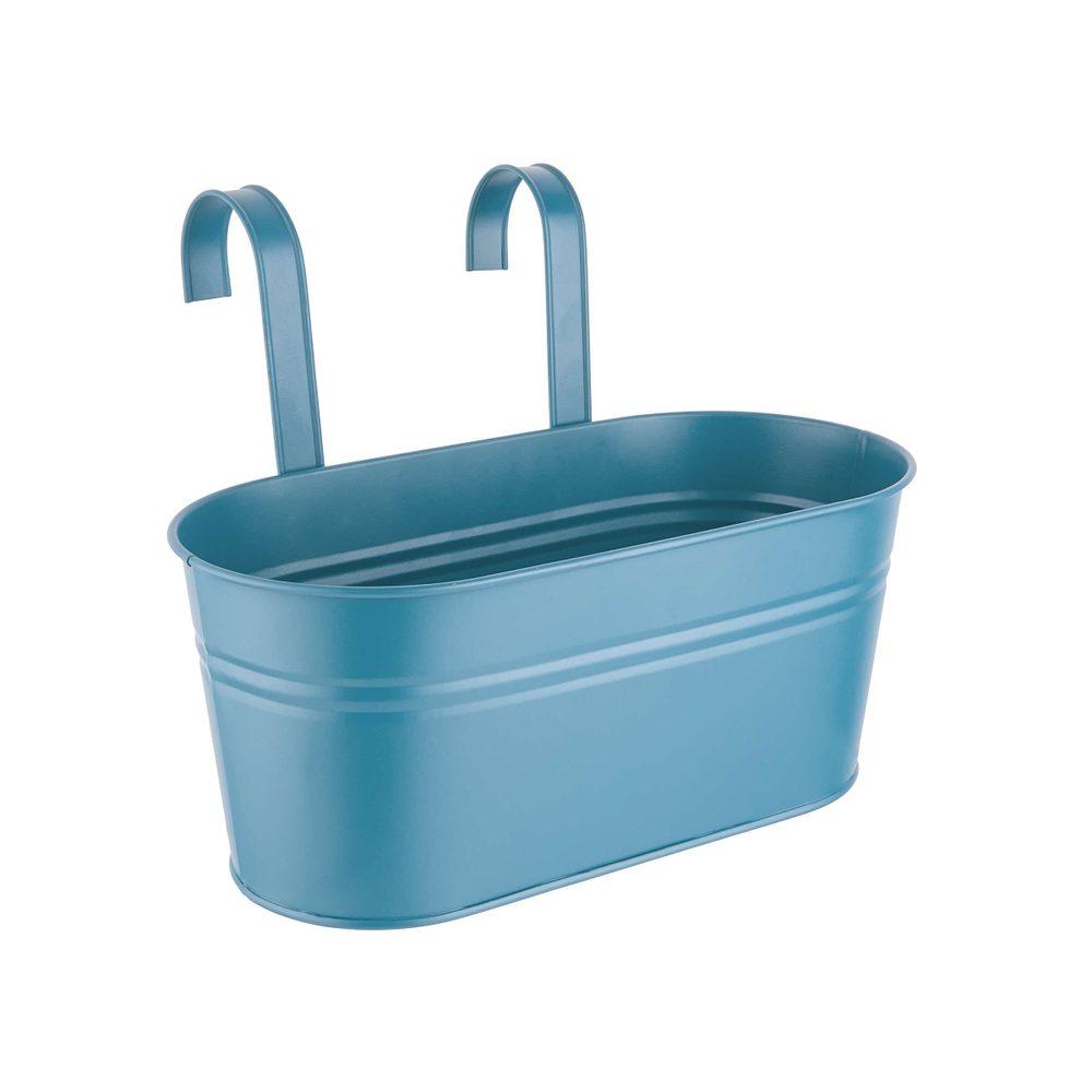 ZINC Truhlík na zavesenie 33 cm - modrá
