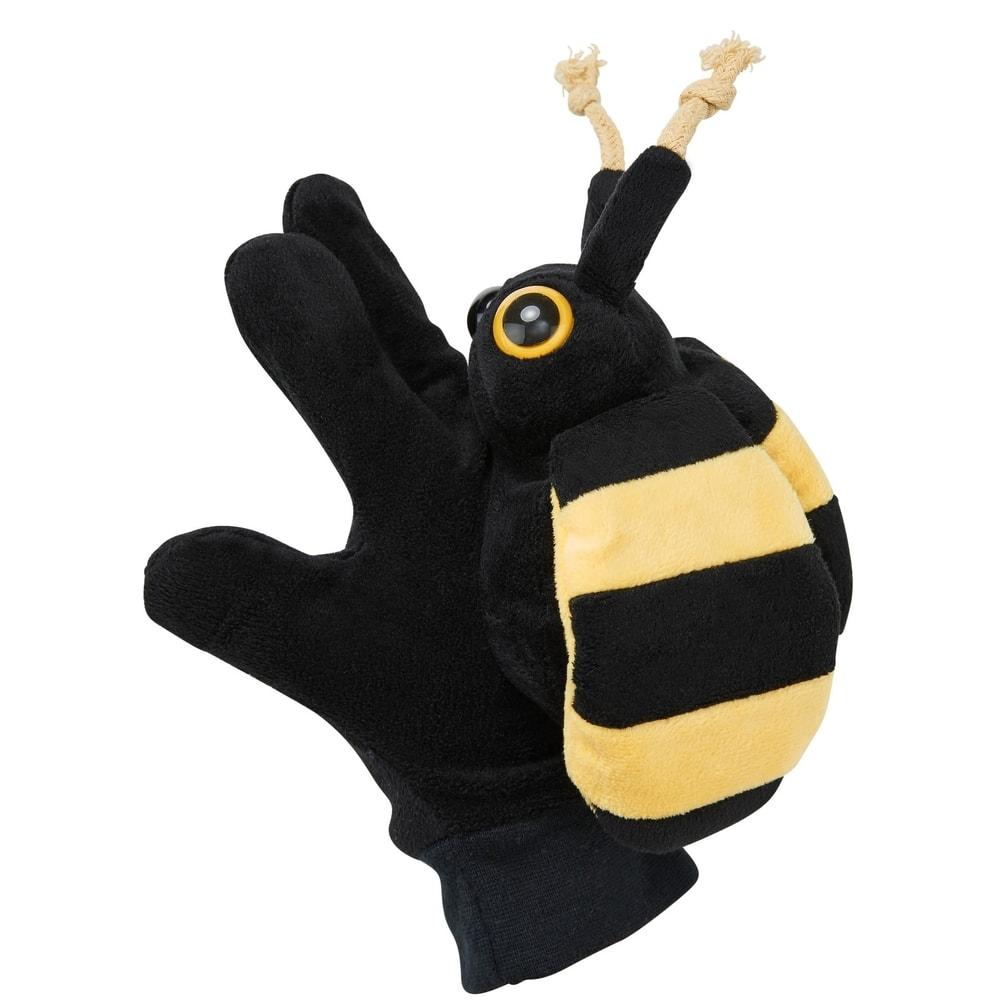 WILD GUYS Maňuška na ruku včela