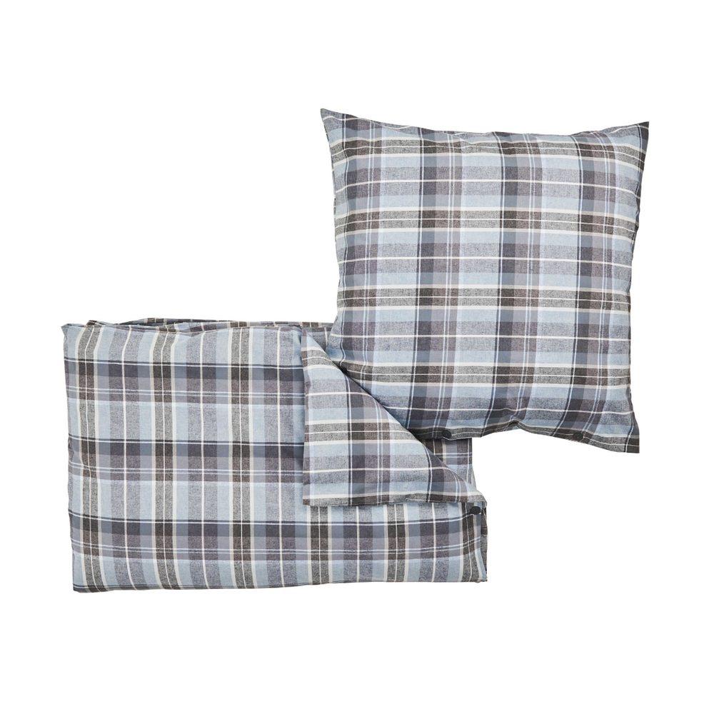 VERMONT Flanelové obliečky 135 x 200 cm / 80 x 80 cm - mix