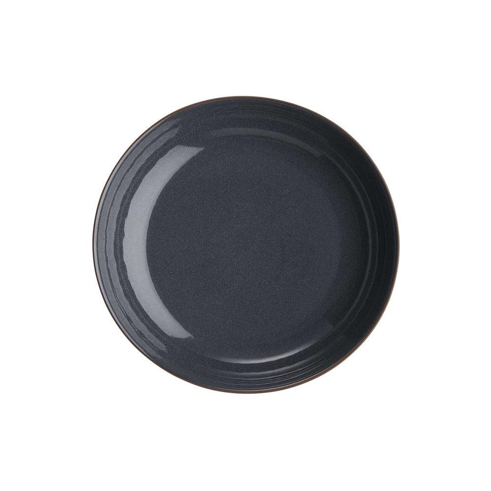 NATIVE Sada hlbokých tanierov 21,5 cm set 6 ks - tm. modrá