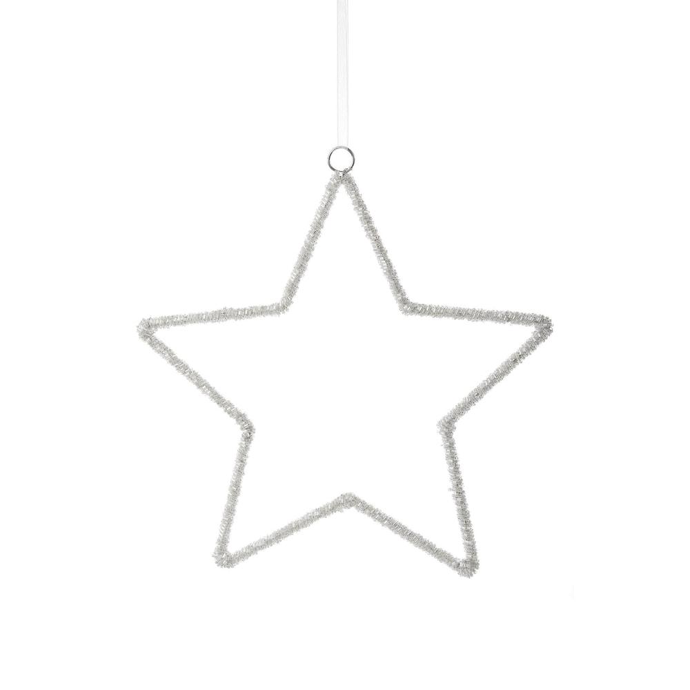 X-MAS Hviezda dekoračná 26 cm
