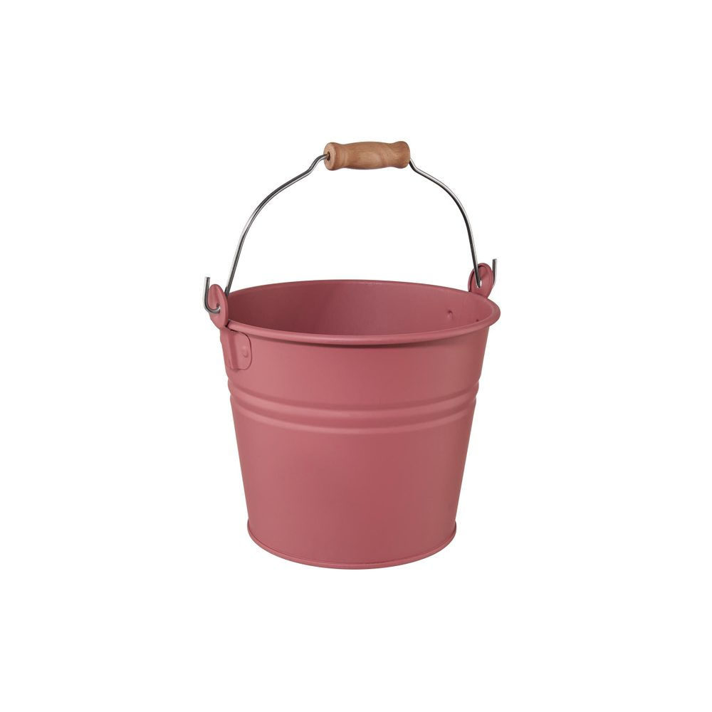 ZINC Vedro 16 cm - sv. červená
