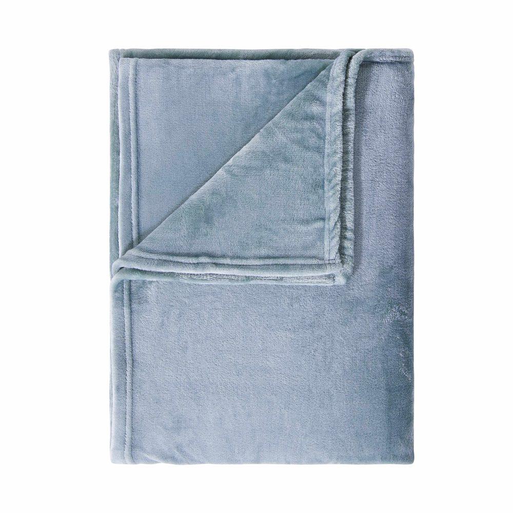LAZY DAYS Flisová deka 200 x 150 cm - modrá