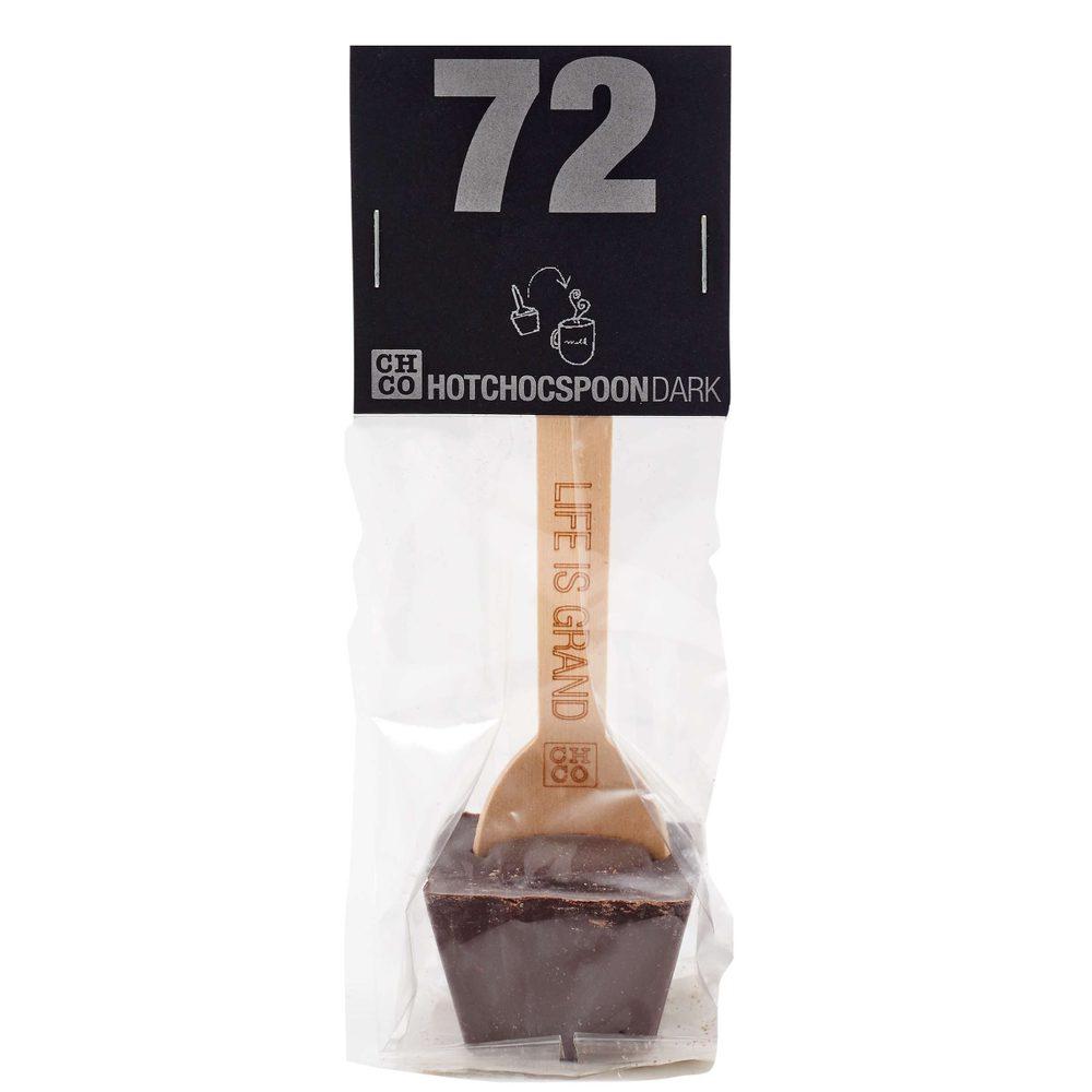 HOTCHOCSPOON Horúca čokoláda 72% kakaa 50 g