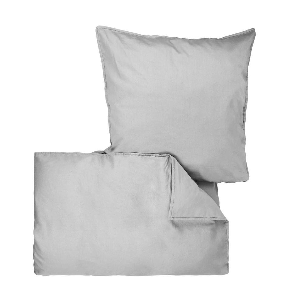 BEDTIME Posteľné prádlo 135 x 200 cm / 80 x 80 cm - sv. šedá