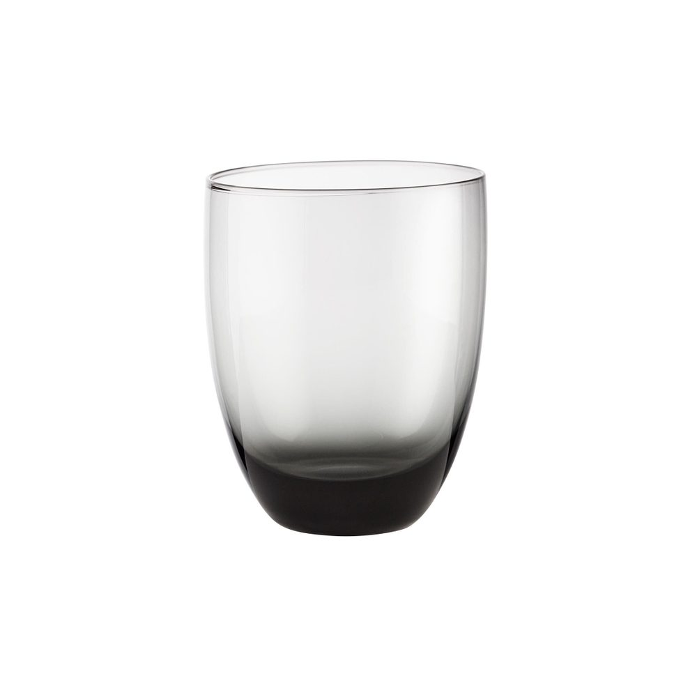 SMOKY Sada pohárov na vodu 300 ml 6 ks - antracitová
