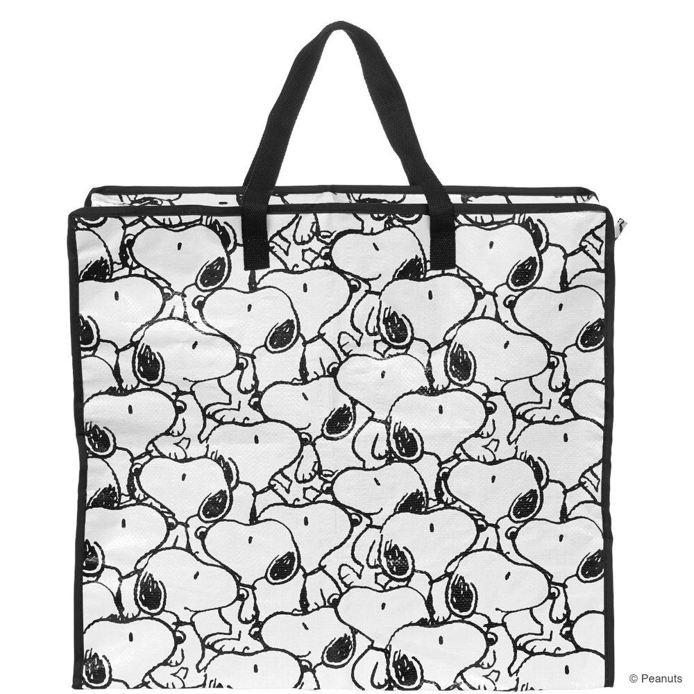 PEANUTS Jumbo taška Snoopy all over