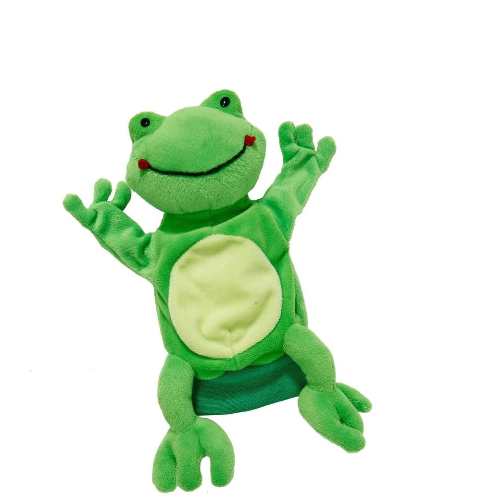 WILD GUYS Maňuška na ruku žaba