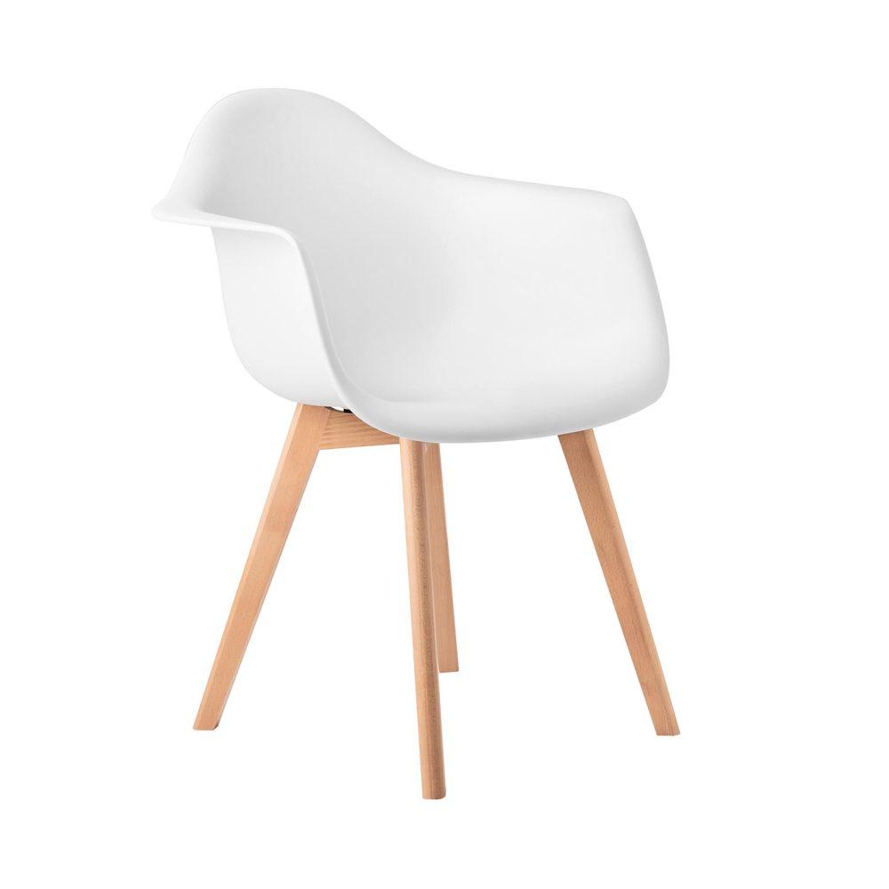 SEAT-OF-THE-ART Stolička s opierkami - biela