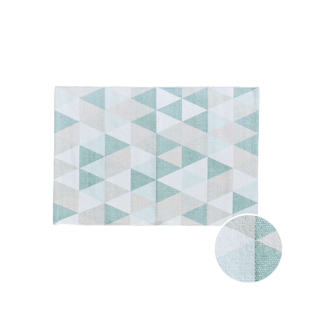 SILENT DANCER Koberec trojuholníky 60 x 90 cm