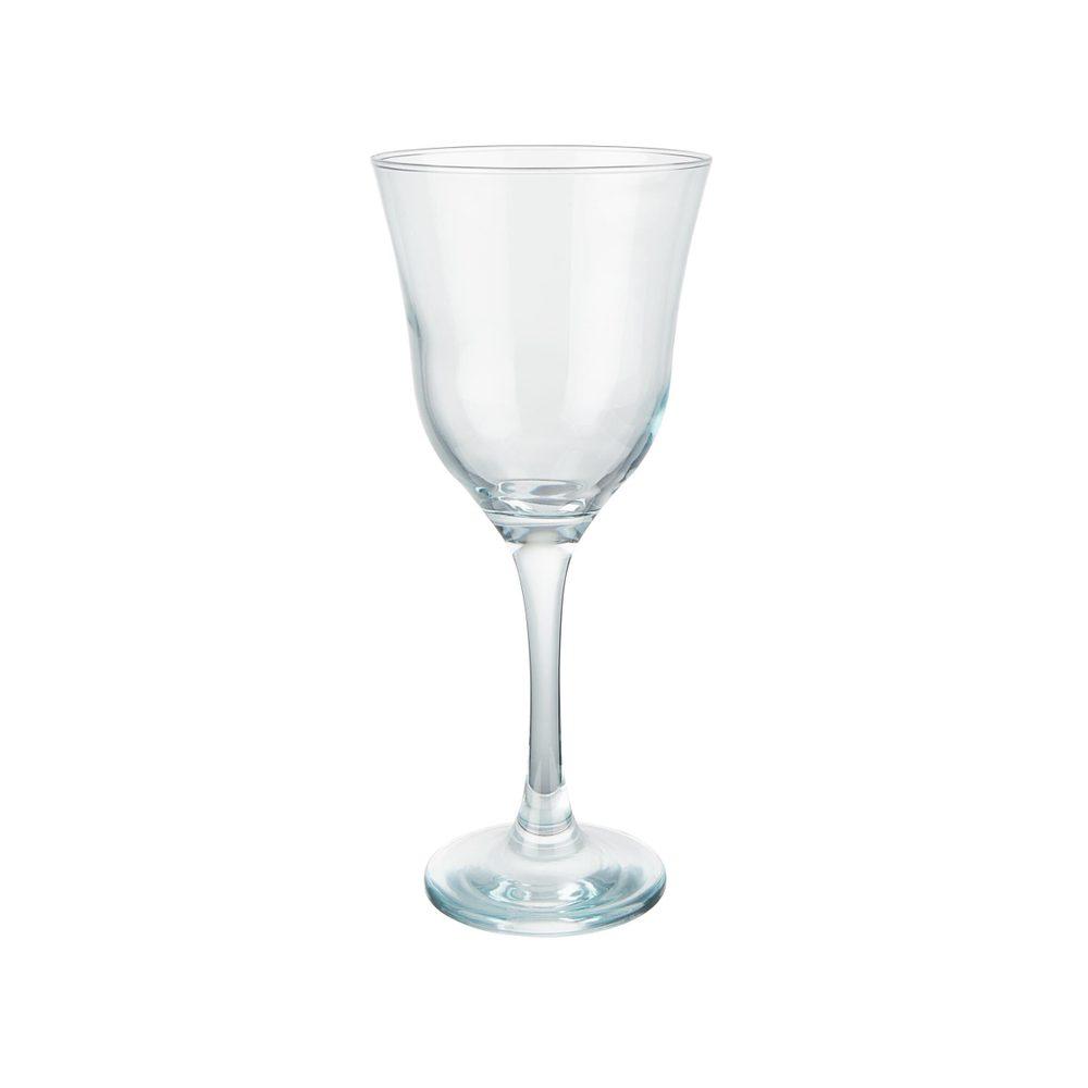 SHEER BLUE Poháre na víno 370 ml set 6 ks