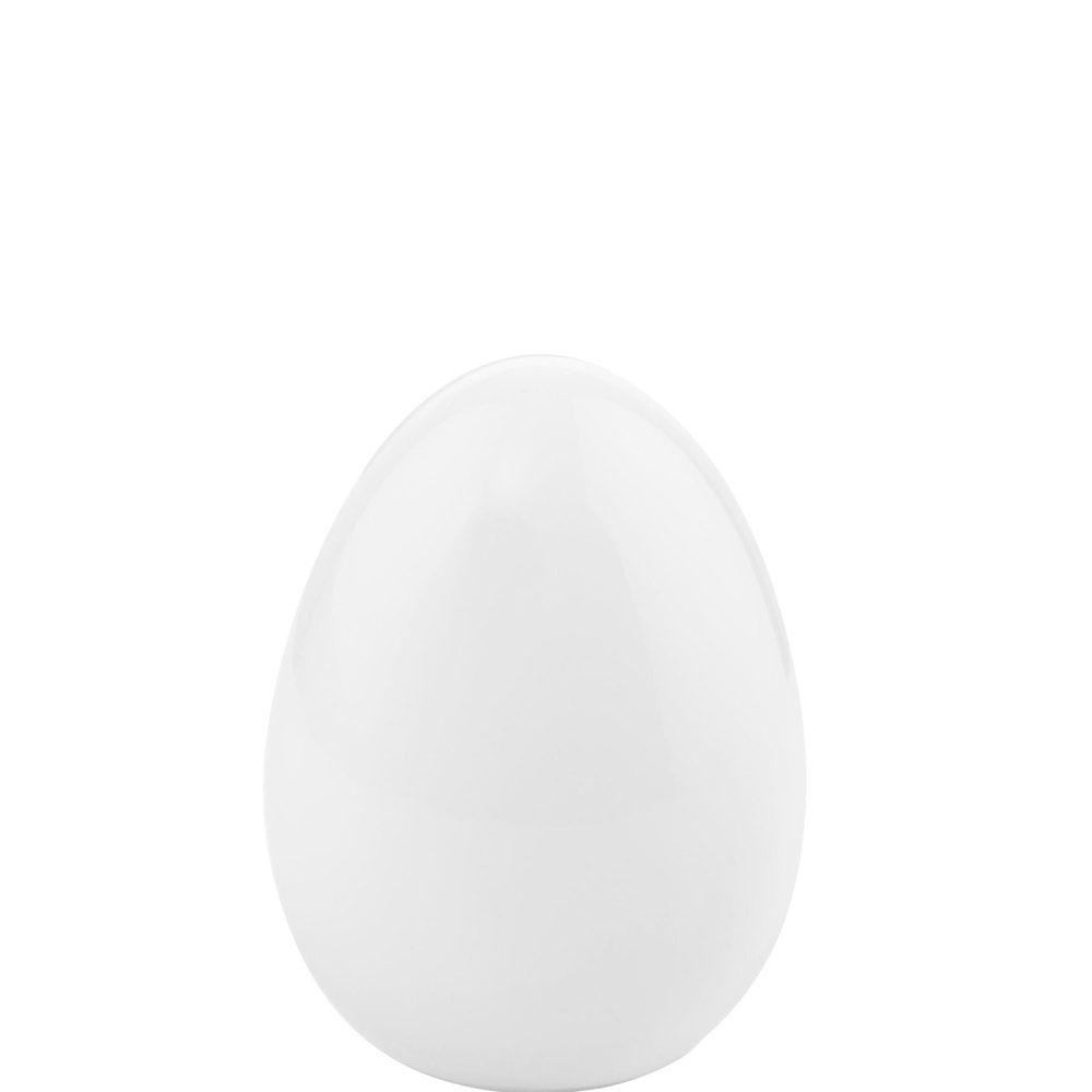 EASTER Keramické vajce 8 cm - biela