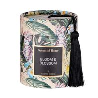 SCENTS OF HOME Vonná sviečka Dark Jungle Bloom & Blossom