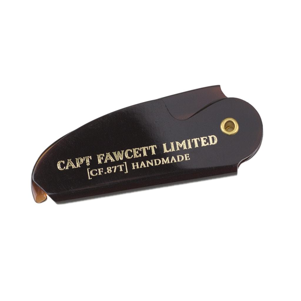 Captain Fawcett Sandalwood Moustache Wax & Foldable Beard Comb Gift