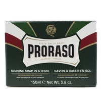 Proraso Green Refreshing Shaving Soap with Eucalyptus (150 ml)