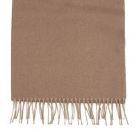 John & Paul Brown Wool Scarf