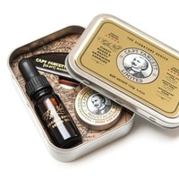 Captain Fawcett Ricki Hall's Booze & Baccy Grooming Survival Kit