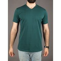 John & Paul Proper T-shirt - Green (V-neck)